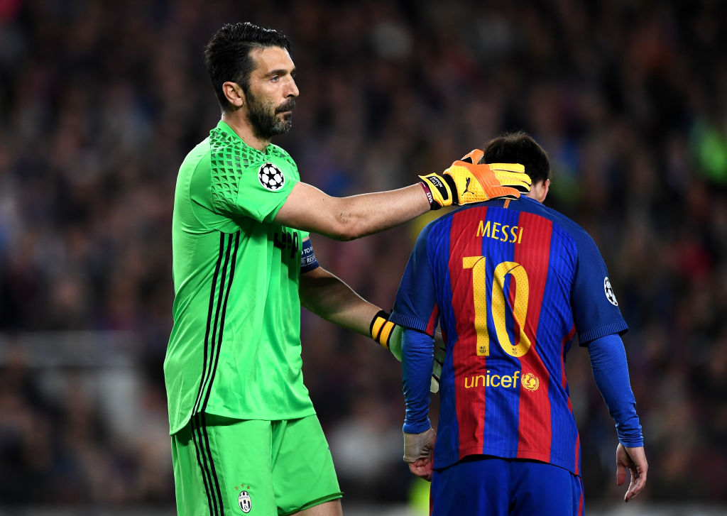 Gianluigi Buffon, Lionel Messi
