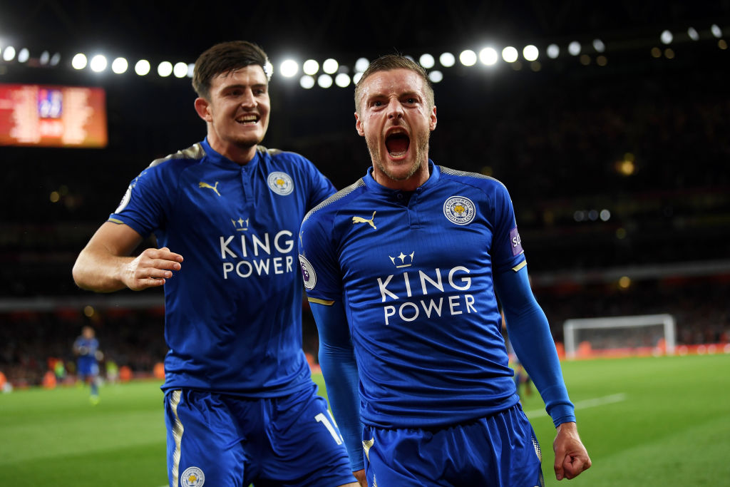 Harry Maguire, Jamie Vardy