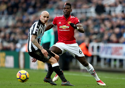 Newcastle x Manchester United - Premier League 2017/2018 - Campeonato Jornada 27