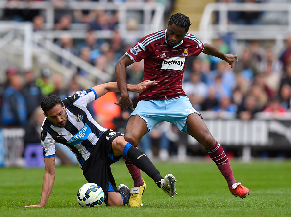Alex Song, West Ham, Jonás Gutiérrez, Newcastle