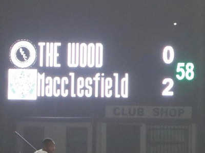 Boreham Wood 0-2 Macclesfield Town