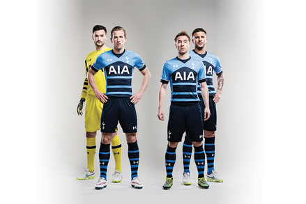 Tottenham - Uniforme alternativo 2015/16