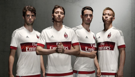 Milan - Uniforme alternativo 2015/16
