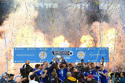 Leicester City x Everton - Premier League 2015/2016 - Campeonato Jornada 37