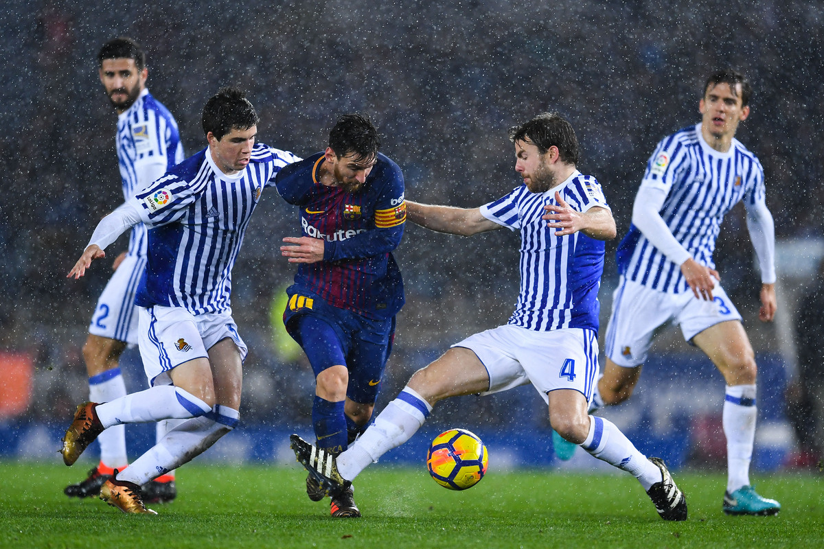 Real Sociedad X Barcelona Liga Espanhola   Campeonato Jornada